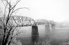 Train Bridge; Omaha, NE to Council Bluffs, IA