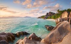 Seychelles Self Catering Beach Bungalows and gites Mahe Island Seychelles. Ideal place to stay in the Seychelles. Seychelles La Digue, Seychelles Beach, Seychelles Islands, Seychelles Resorts, Seychelles Africa, Strand Wallpaper, Sunset Wallpaper, Nature Wallpaper, Hd Wallpaper