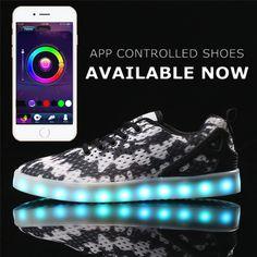 42 Best Unisex APP Remote Control LED Shoes(New Style) images  e327fdf16