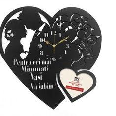 Ceas Pentru Nasi Personalizat Inima - IVI Style Nasa, Clock, Watch, Clocks