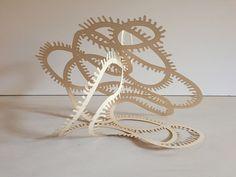 Mobius Paper Sculpture - Wendy Letven