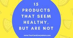 "From bottled water to anti-bacterial soaps, don't fall for ""health"" products that aren't especially good for you."