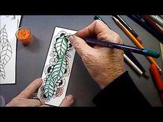 Finery Tangle Pattern Lesson #133 - Melinda Barlow CZT