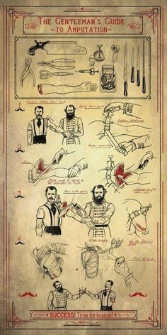 A Gentleman's Guide to Amputation