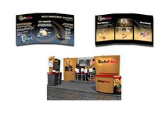 Several exhibit booths including a 30' X 40' full exhibit for SafeNet, a Belcamp, MD-based information security company.