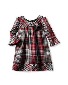 Laura Ashley Girl's Striped Floral Dress - Özlem Erol- Frocks For Girls, Little Girl Dresses, Girls Dresses, Toddler Dress, Baby Dress, Young Fashion, Kids Fashion, Laura Ashley Girls, Baby Outfits