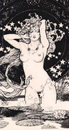 (the Star of the Tarot?)
