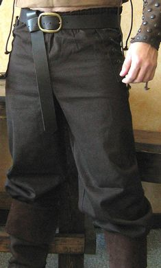 Celtic Viking Pants - maybe they will make these for a woman, too, if I make puppy eyes ... ;-)