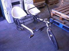 Lot of 2 for Fun Cycles Tricycles One Dual Rider One Single Rider | eBay