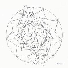 cat celtic coloring pages - photo#49
