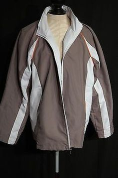 AVX WOMEN'S PLUS SIZE WHITE & TAN JACKET SIZE 18/20