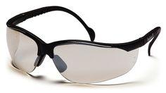 Pyramex Safety Pyramex Venture Ii Safety Eyewear, Indoor/Outdoor Mirror Anti-Fog for sale online