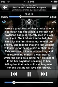 Vic and the rest of Pierce the veil are like legit the most amazing people ever(: i love you all