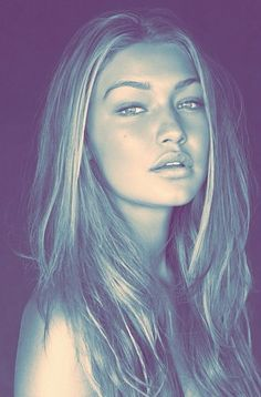 Gigi Hadid is my little obsession :) Stunning natural beauty.