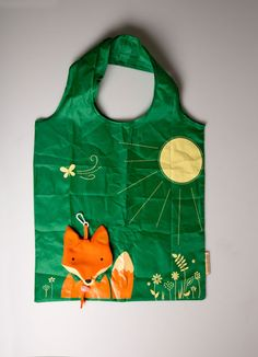 Fox Foldable Shopping Bag | Woodland Creatures | Sass & Belle