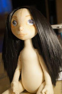 Создание текстильной куклы Лорочки. Часть 3 - Ярмарка Мастеров - ручная работа, handmade