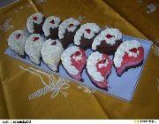 Semifreda II. recept - TopRecepty.cz Pot Holders, Muffin, Breakfast, Desserts, Food, Morning Coffee, Tailgate Desserts, Deserts, Hot Pads
