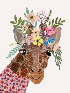 Giraffe - Mia Charro