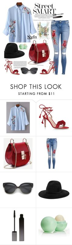 """""""Cherry Blossom"""" by cultuerd-stylish on Polyvore featuring Gianvito Rossi, Loewe, rag & bone, Serge Lutens and Eos"""