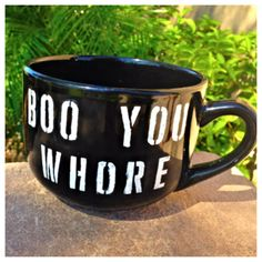 @Anna Totten Bigornia Rideout if you drank coffee this would be perfect! Mean Girrrrrrrls!