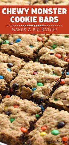 Kid Desserts, Halloween Desserts, Cookie Desserts, Delicious Desserts, Halloween Party, Halloween Cookies, Health Desserts, Easy Halloween, Moster Cookies