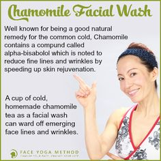 Tip of the week  This facial wash will help you reduce face lines and wrinkles. It's amazing how much nature has to offer! For more tips, visit our blog http://faceyogamethod.com/blog/