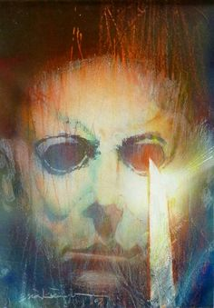 ungoliantschilde:  a portrait of Jason Voorhees by Bill... #comics #art