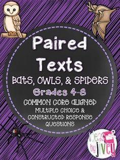 Bats, Owls, and Spid