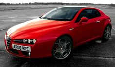 Alfa Brera S, 2008. A limited edition of 500 cars modified by Prodrive whose version had improved suspension and was 100kg lighter than the standard Giugiaro-designed Alfa Romeo Brera