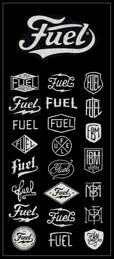 Fuel Motorcycles - New logo on Behance