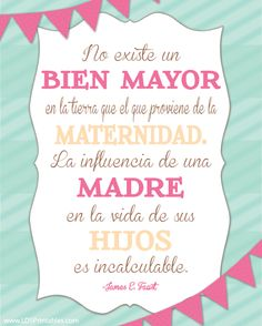 Mother's day printable now available in Spanish!
