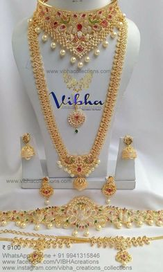 Fulfill a Wedding Tradition with Estate Bridal Jewelry Indian Bridal Jewelry Sets, Bridal Jewelry Vintage, Silver Jewellery Indian, Bridal Jewellery, Wedding Jewellery Designs, Gold Jewellery Design, Wedding Jewelry Sets, Fancy Jewellery, Wedding Accessories