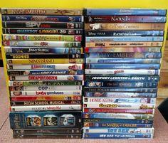 Lot 46 Children & Family DVD's Harry Potter, Ice Age, Disney, Nickelodeon + More