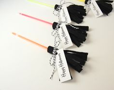 Happy Halloween Glow Stick Witches Brooms by Northstory and other non-candy Halloween treats