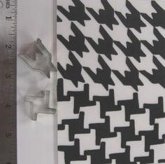 HOUNDSTOOTH CUTTER SET. DESIGNED BY LISA BUGEJA