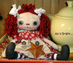 Dolls by All is Bright - www.allisbrightcrafts.blogspot.com