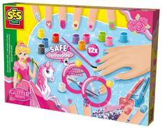 Lakier do paznokci dla dzieci z brokatem - zabawki kreatywne dziewczynek