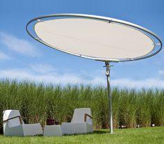 Kreisförmiger Sonnenschirm von Umbrosa - besondere Finsternis