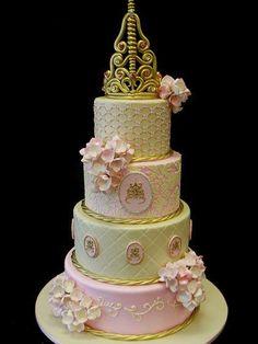 "Lovely ""Fairytale Princess"" tier cake...."