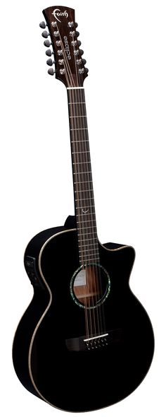 FECV12 - Eclipse Venus 12 String Cut/Electro - Stereo - Faith Guitars | Patrick James Eggle | Natural, Trembesi, Hi-Gloss, Eclipse series acoustic, electro acoustic, cutaway guitars | Barnes and Mullins Ltd