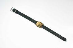 Ladies gold plated SOS Talisman watchband