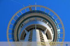 Skyjump: Pulando do alto da torre de Auckland  #Auckland #NovaZelândia #NewZealand #Skytower #Skyjump