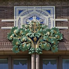 The Van Allen Bldg, Clinton, Iowa, 1913-14  |  Louis H. Sullivan, architect