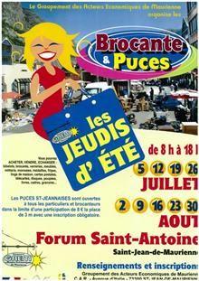 Brocante et puces - Maurienne Tourisme : L'agenda en Maurienne