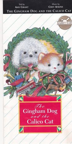 The Gingham Dog And The Calico Cat Cassette Tape / Amy Grant / Chet Atkins RARE #Christmas