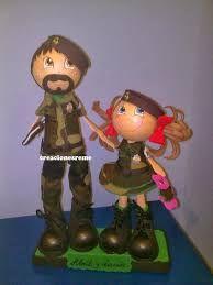 Resultado de imagen de muñequitas militares creacionesreme