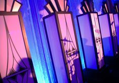 Great Gatsby Themed Event | Art Deco Column | Shag Carpet Prop Rentals | Dallas, TX