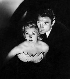 Gloria Grahame & Jack Palance, Sudden Fear (1952)