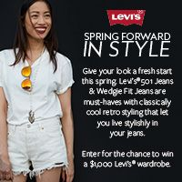 Enter for a chance to win a $1,000 Levi's gift card!