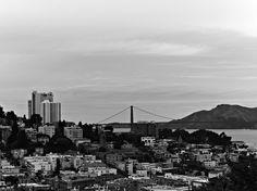 Hedi Slimane shot of San Francisco